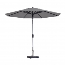 Parasol Paros 300cm (light grey)