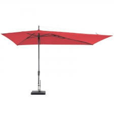 Parasol asymetric 360x220 (brick red)