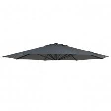 Parasoldoek Lima 350cm rond grey