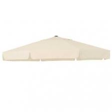 Parasoldoek Hartman Reflexion en Scope zweefparasol 350cm rond naturel (polyester)