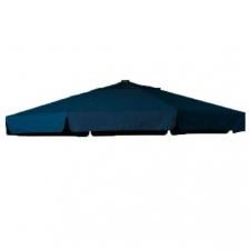 Parasoldoek Hartman Reflexion en Scope zweefparasol 320x320cm vierkant marine blauw (polyester)
