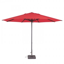 Parasol Lima 350cm rond (Brick red)
