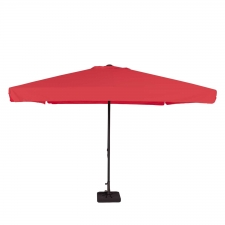Parasol Quito 350x350cm (Brick red)
