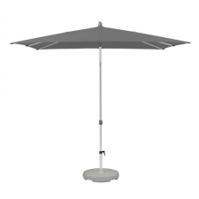 Parasol Alu-Smart easy 200x200cm (stone grey)