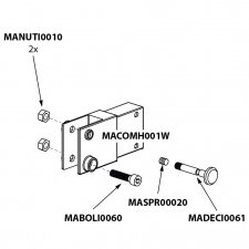 Onderdeel - Umbrosa Paraflex standaard bundel 5/20/22/40/41