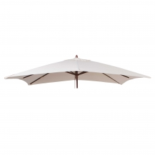 Parasoldoek Borek 150x200cm rechthoek ecru (olefin)