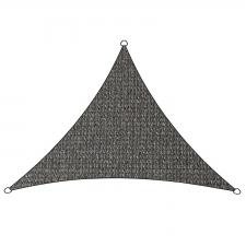Schaduwdoek Iseo HDPE driehoek 3x2,5m (antraciet)