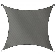 Schaduwdoek Como polyester vierkant 3,6m (antraciet)