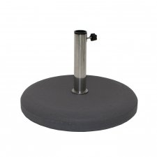 Parasolvoet beton 40kg rond