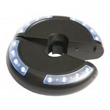 Luna licht en muziek installatie