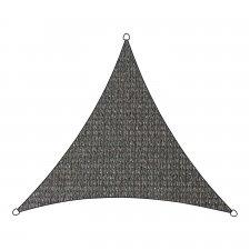 Schaduwdoek Iseo HDPE driehoek 3,6m (antraciet)