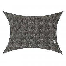 Schaduwdoek Coolfit rechthoek 3x4m (antraciet)