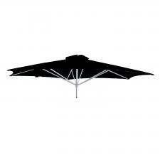 Paraflex Classic parasolkap 270cm - Sunbrella (Black)