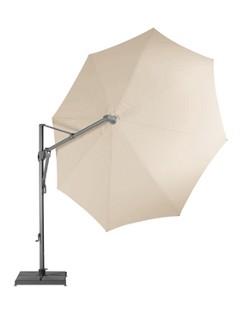 Sombrano vrijhangende parasol gekanteld